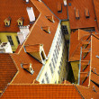 Old tiled roofs — Foto de Stock