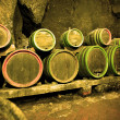 Wine barrels — Stockfoto