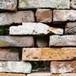 Ancient brick wall — Stock Photo #1191905
