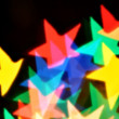 Blurred stars — Stock Photo
