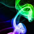 Royalty-Free Stock Photo: Colorful smoke