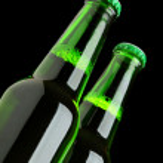 Two beer bottles — Stock Photo