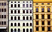 Colorful buildiugs — Stock Photo