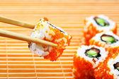 Japanese rolls — Stock Photo