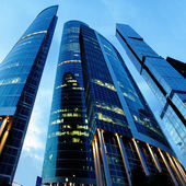 Ciudad de Moscú — Foto de Stock