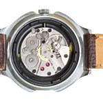 Clockwork of wristwatch — Stock Photo