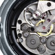 Clockwork of wristwatch — Stock Photo