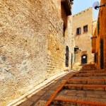 Street in old Yafo — Stock Photo