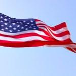 flagge der usa — Stockfoto