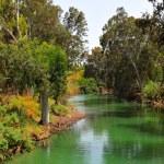 Jordan river — Stock Photo