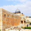 Al-Aqsa mosque - Stock Photo