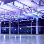 Interior of airport — Stock Photo