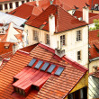 Stock Photo: Tiled roofs