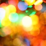 Colorful holiday illumination — Stock Photo