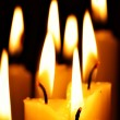 Burning candles - Foto de Stock