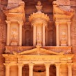 Treasury temple at Petra — Stok fotoğraf
