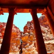 Treasury temple at Petra — Stock Photo #1417827