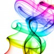 colorful smoke — Stock Photo