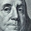 Benjamin Franklin portrait — Foto Stock #1417901