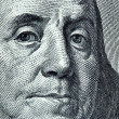 Benjamin Franklin portrait — Stock Photo