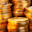 Gold coins — Stock Photo #1418100