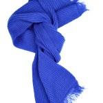Blie woolen scarf — Stock Photo #1418321