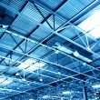 Ceiling of storehouse - Stock Photo