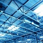 plafond van pakhuis — Stockfoto
