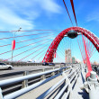 Modern suspension bridge — Stock Photo #1418485