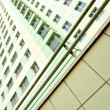 Apartment many-storeyed building - Stock Photo