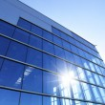 moderní průmyslová budova — Stock fotografie