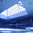 Interior with skylight window — Stock Photo
