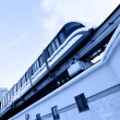 Monorail train — Stock Photo