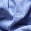 Jeans fabric with folds — Stock Photo