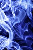 Blue tobacco smoke — Stock Photo