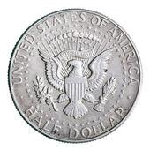 Half dollar coin — Stock Photo