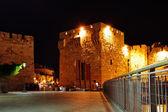 Yafo gate at night — Stock Photo