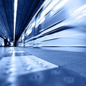 Train arrival — Stock Photo