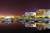 Hotele i jachty — Zdjęcie stockowe