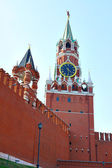 Spasskaya tower — Stock Photo
