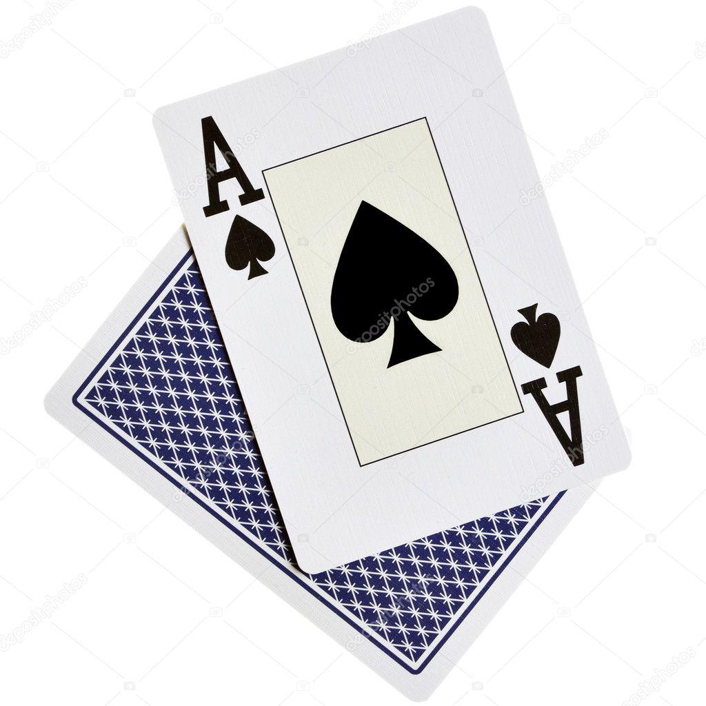 Ace spades - Stock Image
