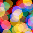 Colorful holiday lights — Stock Photo #1420084