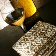 Wine and matzoh — Stock Photo #1420212