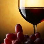 赤ワインのある静物 — ストック写真