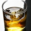 Stock Photo: Glass of whisky