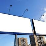 Street advertising — Stock Photo #1424896