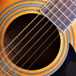 Sounding board of guitar — Stockfoto #1425429