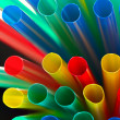 Colorful drinking straws — Stock Photo #1425557