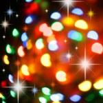 Christmas lights background — Stock Photo #1425801