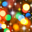 Colorful christmas background - Photo